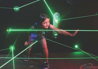 Batman Laser Challenge