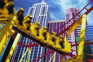 New York-New York Roller Coaster