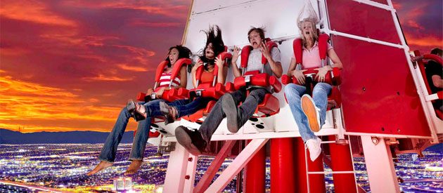 Stratosphere Thrill Rides Vegas4visitors Com