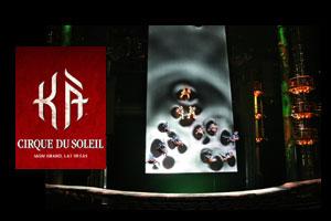 KÀ by Cirque du Soleil